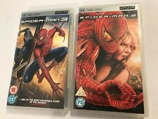 2 BOXED SONY PSP MOVIE FILMS SPIDER-MAN 2 / II & SPIDERMAN 3 / III