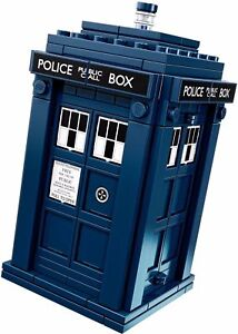 BN Lego doctor who dr buildable tardis space ship figure parts pre built
