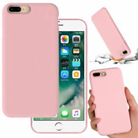 Soft Silicone Plush Lining Hard Cover Case For Apple iPhone SE2 (2020) 7 8 Plus