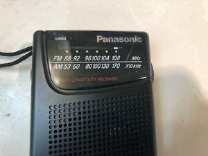 Panasonic RF-521 Pocket Portable AM/FM Radio