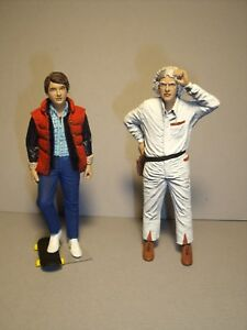 BACK TO THE FUTURE  1/18  UNPAINTED  FIGURES  MADE  BY  VROOM  FOR  SUN STAR