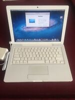 "Apple A1181 MacBook 13.3"" Laptop with Intel Core 2 Duo 2.4GHz 2GB RAM 160GB HDD"