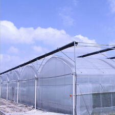 Clear Greenhouse Plastic Cover 6mil 5yr Poly Film 13-30ft Width x Various Length
