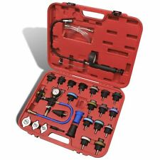 Auto 27 pcs Radiator Pressure Tester Vacuum Purge Cooling System Refill Tool Kit