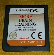 MORE BRAIN TRAINING HOW OLD IS YOUR BRAIN Nintendo DS - NDS - Game Gioco Midway