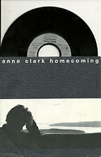 """Anne Clark - Homecoming (1987) GERMANY 7"""""""