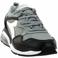 Diadora Whizz Run Sneakers Casual    - Grey - Mens