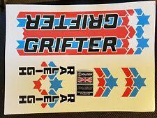"GRIFTER MK2 ""STARS & STRIPES"" DECAL SET  bike decals/stickers"