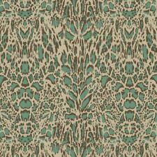 18061RC - Roberto Cavalli 7 Animal Skin Leather Green Beige Brown Wide Wallpaper