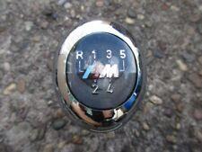 BMW E36 M3 3,0L M Schaltknauf Chrom Schalthebel Silber Schwarz 5 Gang 3er
