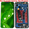 For Huawei Honor 8X Full LCD Display +Touch Screen Digitizer Assembly Frame +++
