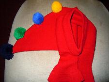 Entzückende lustige Zipfelmütze mit Rollkragen - Super im Schnee u. in der Kälte