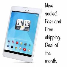 """Trio AXS 4G 7.85"""" 16GB Quad Core Android Tablet. New Sealed."""