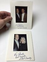 Vintage Phil Crosby Signed Fan Photo Autographed