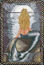 Little Mermaid Mosaic Art