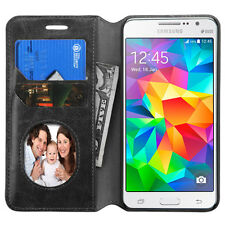 For Samsung Galaxy Grand Prime G530 Leather Wallet Credit Card Holder Case Cover