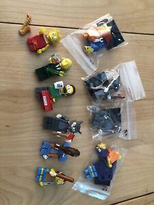 Lego The Simpsons Series 1 minifigures
