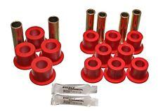 Energy Suspension Red Front Leaf Spring Bushing Set For 06/86-97 Nissan 720 4WD
