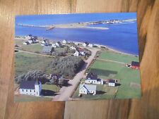 Old Vintage Postcard Margaree Harbour Cabot Trail Cape Breton Nova Scotia Canada