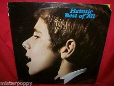 HEINTJE Best of all  LP USA 1973 MINT- Very Rare