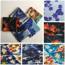 "5pcs 18""X30"" Hawaii Pattern Cotton Fabric Kids-Clothes Bag Patchwork Quilt F18-6"