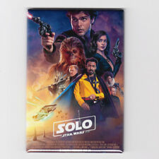 """SOLO : A STAR WARS STORY / BLASTER IN HAND - 2""""x3"""" MOVIE POSTER MAGNET (han 2018"""