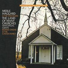 MERLE HAGGARD - LAND OF MANY CHURCHES  CD NEW+
