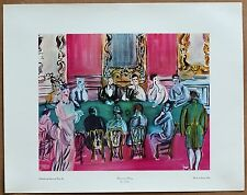 Raoul Dufy  Baccarrat Party Vintage Original Ist Printing Lithograph from 1960