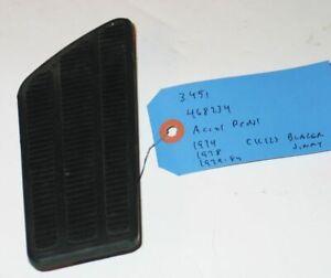 1974-1984 Chevrolet GMC Pickup Blazer Jimmy NOS pedal pad 468234