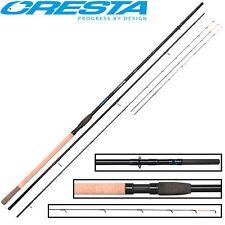 Cresta Blackthorne Feeder 3,75m 60g, Feederrute zum Futterkorbangeln, Angelrute