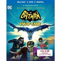 BATMAN VS TWO-FACE TARGET LENTICULAR BLU-RAY / DVD/ DIGITAL