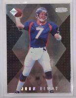 1998 Collector's Edge Masters John Elway #S176 /5000 Football Card HOF Broncos