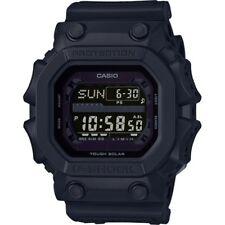 New Casio G-SHOCK GX56BB-1 Solar Mud Resistant Black on Black Digital Watch