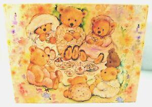 Mary's Bears Tea Party Picnic - 500 pc Springbok Jigsaw Puzzle (Odd Shapes) New