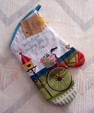 Bicycle Oven Mitt Kay Dee Enjoy The Ride Pattern