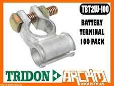 TRIDON TBT21U-100 - BATTERY TERMINAL - 100 PACK TINNED 50-70mm2 (0-00 B&S) BOXED