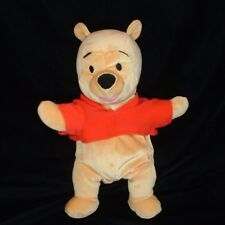 Soft n Silly Winnie The Pooh Red Shirt Plush Stuffed Fisher Price 15 Inches