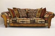 TETRAD TEXAS 3 SEATER SOFA WITH FOOTSTOOL  EXCELLENT CONDITION !!!!