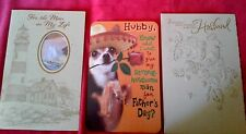 8 1/4 X 5 1/4 CHIHUAHUA DOG W/SOMBRERO HUSBAND FATHER'S DAY CARD~RETAILS $4.29