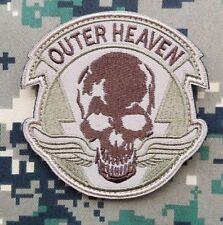 Outer Heaven Logo Metal Gear Solid 5: The Phantom Pain Hook Patch Desert Badge