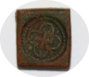 T4473 Poids Monétaire XV XVIème siècle Fleur de Lys -> Faire offre