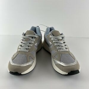 Women's Sportsgirl Sporty Luxe Rubber Sole Lace Up Trainers Size 39 (Size 8 Aus)