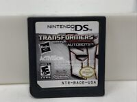 Transformers War For Cybertron Autobots Nintendo DS Video Game Cart Only