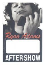 Ryan Adams - Konzert-Satin-Pass Aftershow  - Schönes Sammlerstück