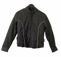 Vintage Nexgen Waterproof Reflective Cordura Armored Motorcycle Jacket Size S