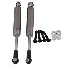 2x Titanio 92x10mm Lega Di Alluminio Ammortizzatore per RC1:10 Vettura
