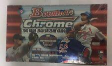2002 Bowman Chrome Baseball Hobby Box Factory Sealed