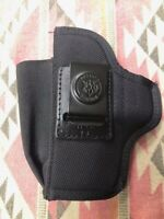 "DeSantis N87 Holster Ambidex 4"" S&W M&P 9/40 & XD with Mag Holder"