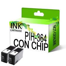 2 Genérico Negro Cartuchos de tinta para HP 364 XL DeskJet 3070A 3520 con chip