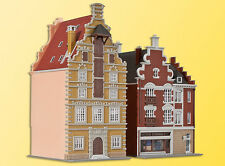 Kibri 37167 Maisons de Ville, 2 pièces, KIT DE MONTAGE, N